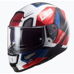 LS2 Helmet FF397 Vector Evo Automat White/Red