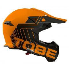 Tobe Terminator Helmet, Stripe Orange/Black