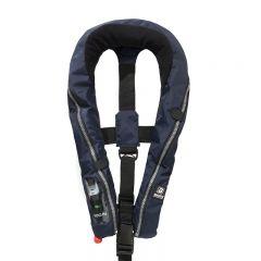 Baltic Compact 100 auto inflatable lifejacket navy 30-110kg