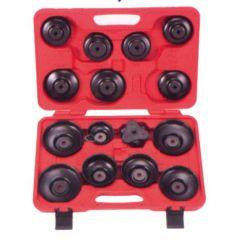 Hyper Oil filter wrench set 16-pcs