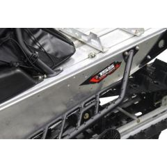 Skinz Airframe Running Boards Black 2013- Polaris Indy 600/800 PAFRB285-FBK