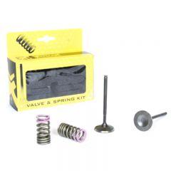 ProX Steel Intake Valve/Spring Kit CRF250R '04-07 + CRF250X 28.SIS1336-2