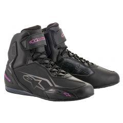 Alpinestars Shoe Women Faster-3 Black/Pink