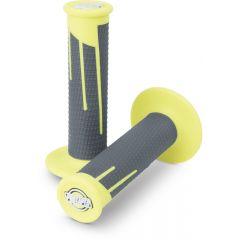 Protaper Grips Clampon Full Diamond Neon Yellow/Dark Grey