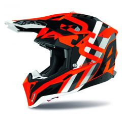 Airoh Helmet Aviator 3 Rainbow orange matt