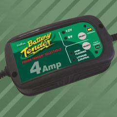 Battery Tender Power Tender 6V/12V 4 A lead acid/Lithium Battery Charger