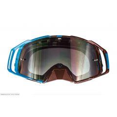 MT MX Evo Stripes MX goggles, blue/black