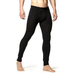 Woolpower Long Johns with Fly 200 Black