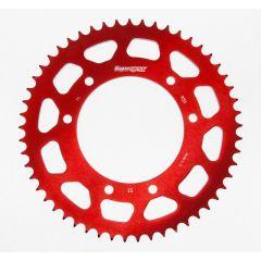 Supersprox Rear sprocket, 53, Ø105mm, Red, Derbi / Aprilia / Yamaha RAL-1131 z53 Red