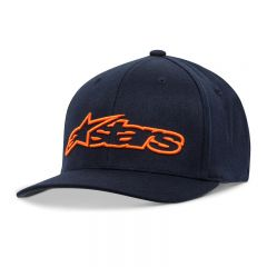 Alpinestars Blaze Flexfit cap, blue/orange L/XL