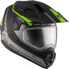 CKX Helmet QUEST RSV Straightline with electric visor Matt green