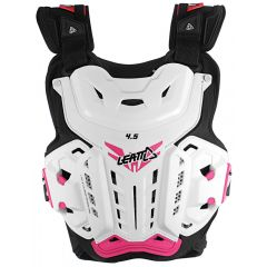 Leatt Chest Protector 4.5 Jacki Wht/Pink