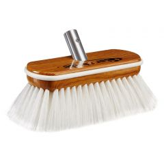 Star brite Premium Hard Wash Brush - Synthetic Wood Block W/Bumper (White)