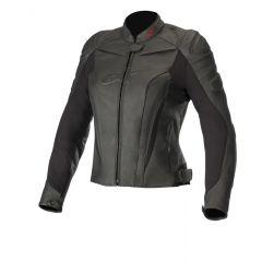 Alpinestars Leather jacket Women GP PLUS R v2 Black/Black