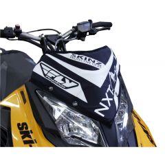Skinz Next Level Windshield Pak Black/White 2013- Ski Doo XM/XS NXSWP400-BK/WHT