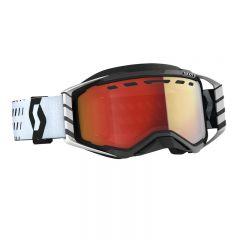 Scott Goggle Prospect Snow Cross LS black/white ls red chrome