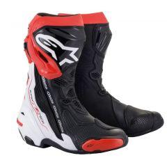Alpinestars Boot Supertech R v2 Black/White/Red