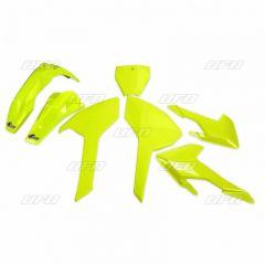 UFO Plastic kit HVA TC/FC 125-450 16- Flou Yellow (Not TC250 2016)