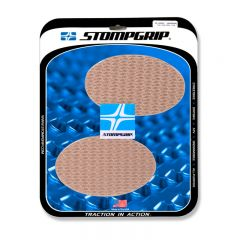 Stompgrip Universal Oval Tank Grips - Icon : Clear