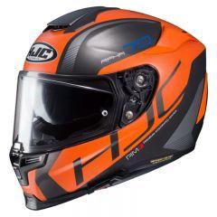 HJC Helmet RPHA 70 Vias MC7SF Black/Orange