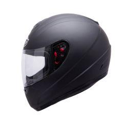 MT Thunder kids helmet, matt black