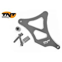 TNT Frontsprocket cover, Aluminium, Carbon-style, AM6