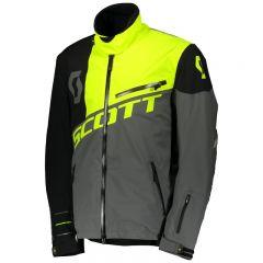 Scott Jacket Shell Pro dark grey/neon yellow