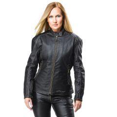 Sweep Leatherjacket Cara Lady, black