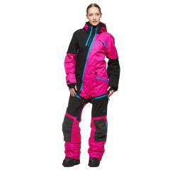 Sweep Backcountry Ladies Coverall, Pink/Black/Blue