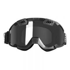CKX Goggle 210° black/silver lens