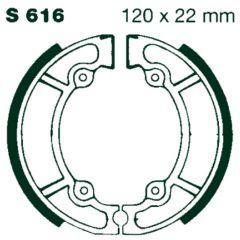 AIR Bromsbackar S 616 120x22mm parvis