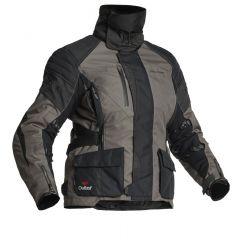 Halvarssons Textile jacket Wien Lady Black/lava