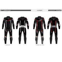 Alpinestars Leathersuit GP Pro v2 1 PCS Tech Air Black/White