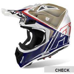 Airoh Helmet Aviator 2.2 CHECK Sand gloss