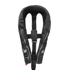 Baltic Compact 100 auto inflatable lifejacket black 30-110kg