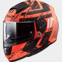 LS2 Helmet FF397 HUNTER matt orange black