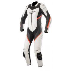 Alpinestars Leather suit Dam Kira 1-pcs Black/White/Fluored