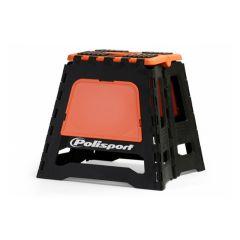 Polisport Motostand bike stand black/orange