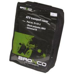 Bronco Cover trailerable for ATV black 600D