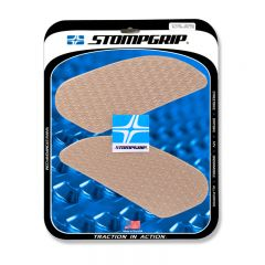 Stompgrip Universal  Rally Tank Grips - Icon : Clear