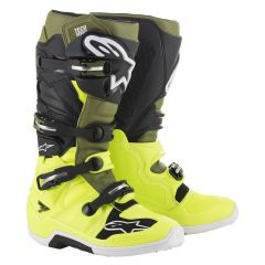 Alpinestars Boot Tech 7 FluoYellow/Military green