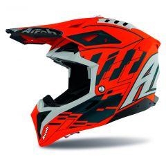 Airoh Helmet Aviator 3 Rampage orange gloss