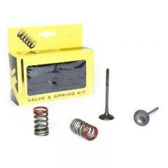 ProX Steel Ex. Valve/Spring Kit KX250F'04-16 + RM-Z250'04-06 28.SES4335-1