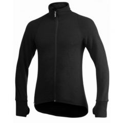 Woolpower Full zip 400 Merino midlayer Jacket black