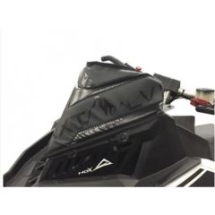 Skinz Next Level Windshield Pak Black/Pink Polaris Axys