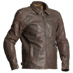 Halvarssons Leather jacket Trenton Brown