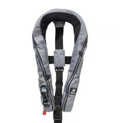 Baltic Compact 100 auto inflatable lifejacket grey 30-110kg