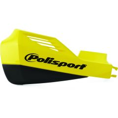 Polisport MX Rocks handprotector yellow incl. Suzuki fixation kit