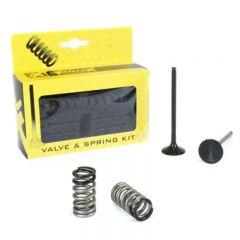 ProX Steel Exhaust Valve/Spring Kit KTM250SX-F/EXC-F '08-12 28.SES6329-1