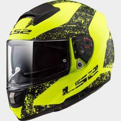 LS2 Helmet FF397 SIGN matt yellow black